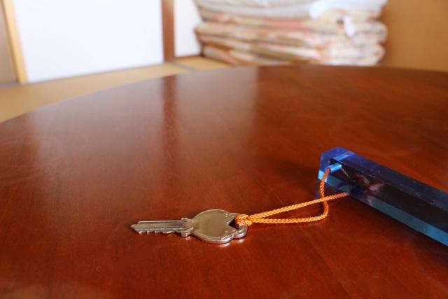 研修所の部屋の鍵