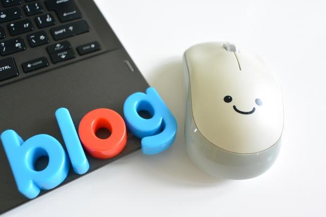 ブログロゴとPC